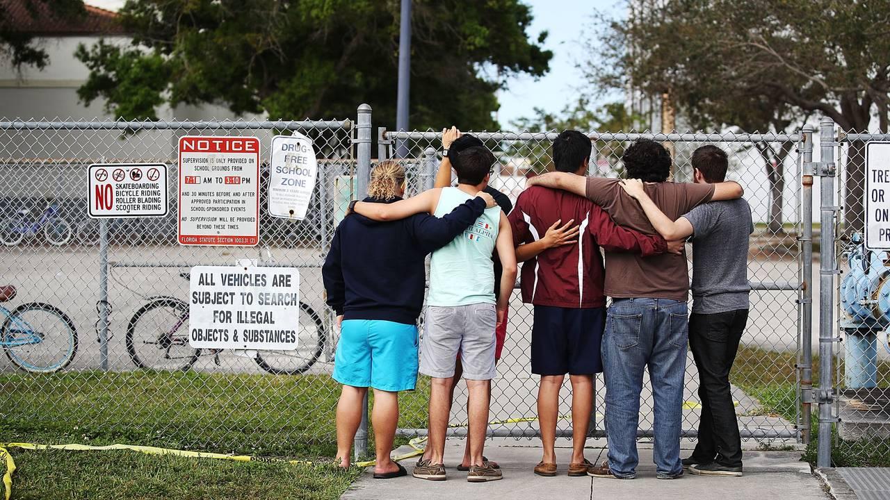 Marjory Stoneman Douglas High School, Feb-75042528. 18, Parkland, Florida, shooting aftermath87714054