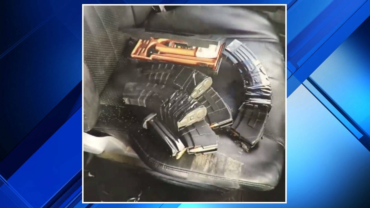 Gun magazines Taylor shooting suspect