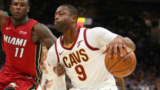 LeBron ejected, Love scores 38 as Cavs beat Heat