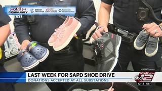 KSAT Community: Last week for Share the Shoes Drive