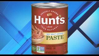 Mold causes recall of Hunt's tomato paste