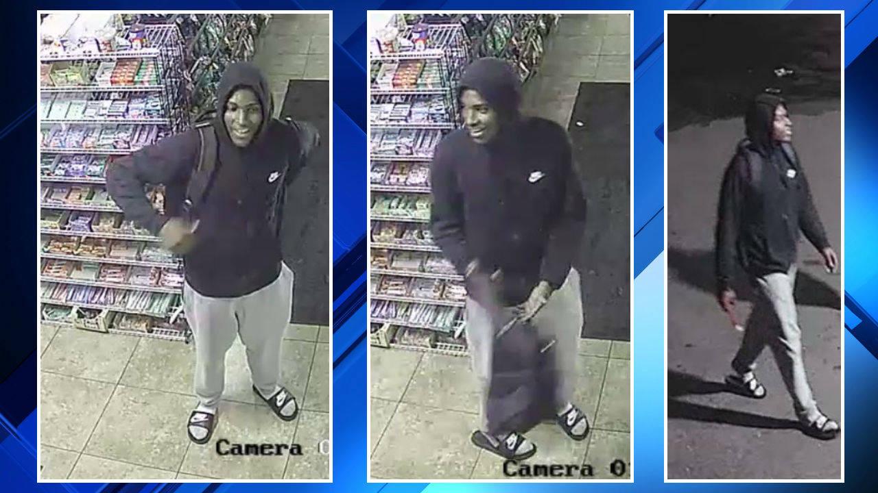 Detroit gas station robbery 3 men suspect 3