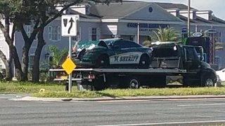 Osceola County sheriff's deputy strikes pickup, killing driver, FHP says