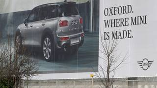 BMW will shutter Mini factory for a month because of Brexit risks