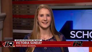Scholar Athlete: Victoria Sunday, Poth High School