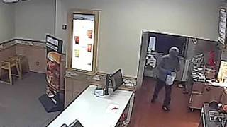 Fast-food restaurant burglars take off with Wendy's cash