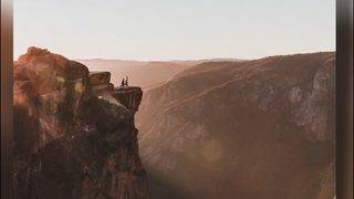 Photographer looking for couple in Yosemite proposal photo
