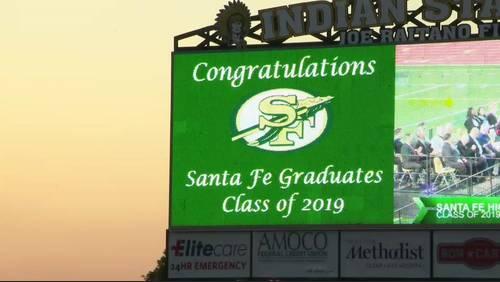 2 Santa Fe High School students receive diplomas posthumously