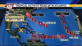 Tropics get active: Keep your eyes on Florence and the Gulf of Mexico&hellip&#x3b;