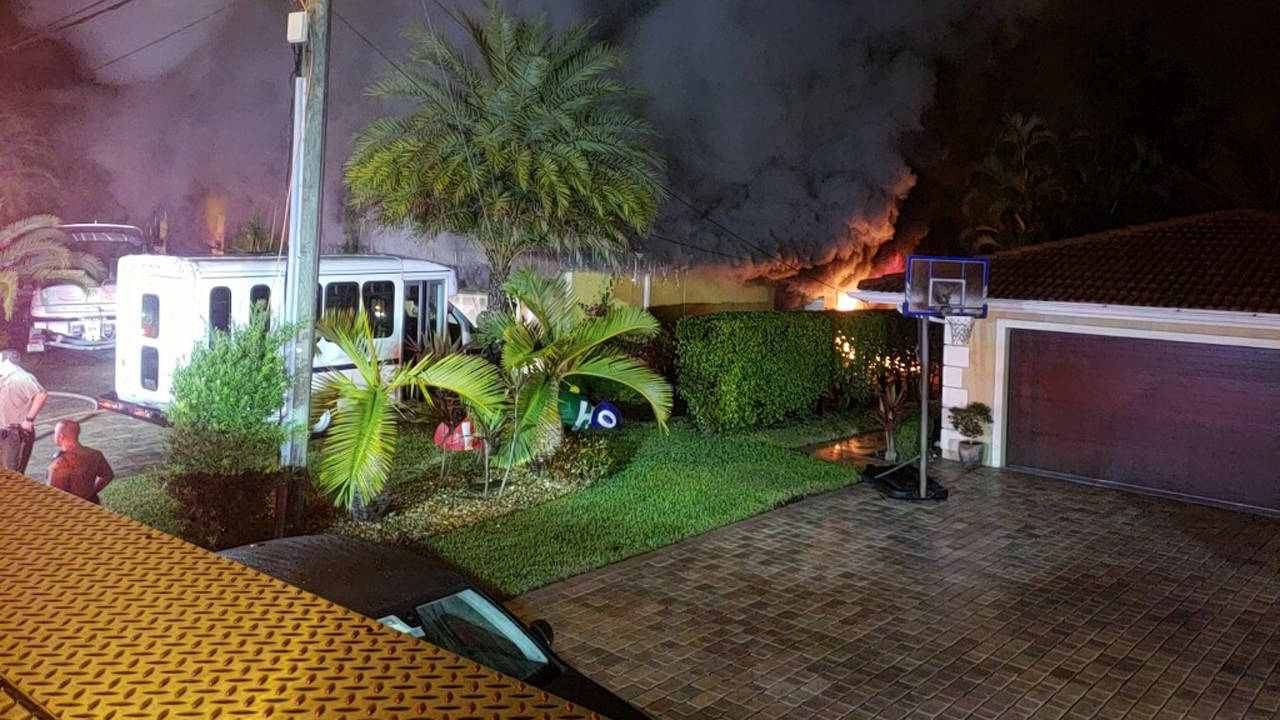 Northwest Miami-Dade County house fire 2