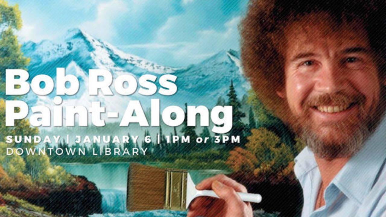Bob Ross Paint-Along