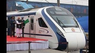 India's fastest train breaks down, day after launch