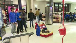 Tech Time: Troy students design robot bell ringer to help the Salvation Army