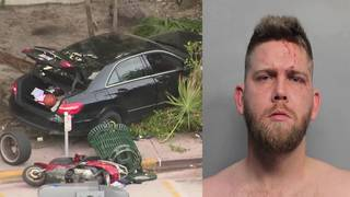 Driver arrested in Miami Beach crash that injured 5 pedestrians,&hellip&#x3b;