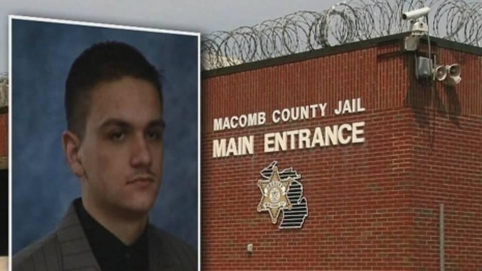 David Stojcevski Macomb County jail