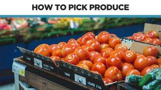 Adulting Hacks: Shopping for produce