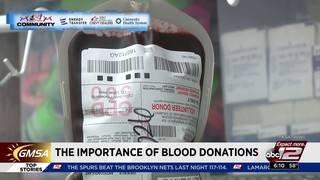 KSAT Community Blood Drive - The Importance of Blood Donations