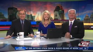 KSAT 12's Ashly Custer shows livestock from San Antonio Stock Show & Rodeo