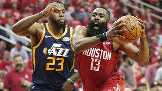 Playoffs: Harden's triple-double helps Rockets dismantle Jazz in Game 2