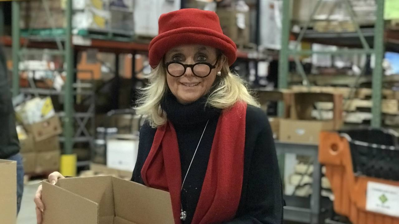 Congresswoman Debbie Dingell Food Gatherers