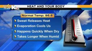 Why humid heat makes us feel worse