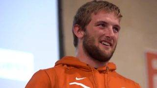 WATCH: Former Churchill standout tears up after Texas football surprise