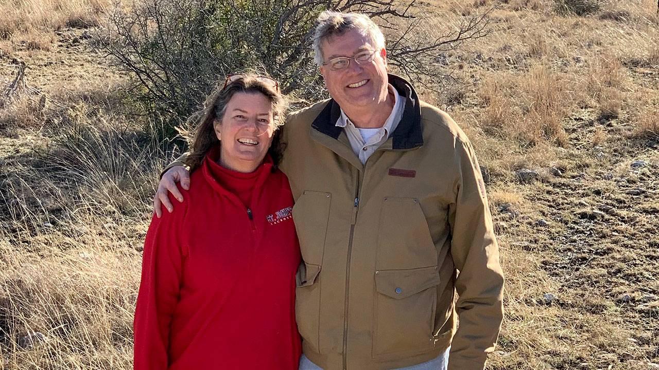 Angela and Stuart Kensinger - family photo