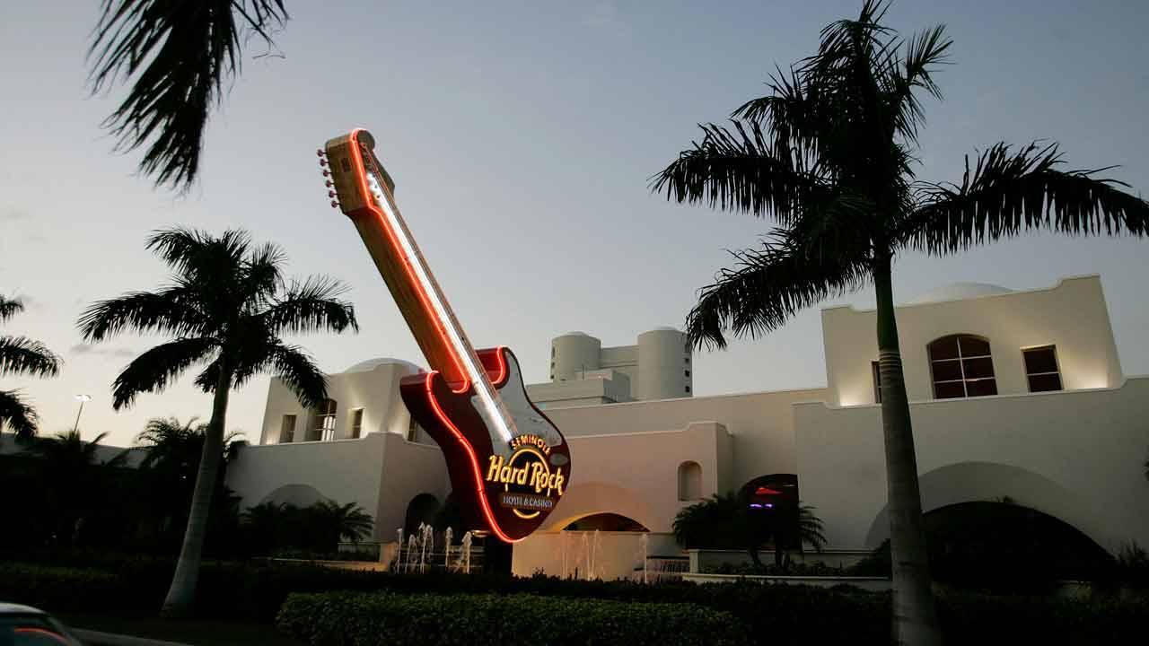 Seminole Hard Rock Hotel & Casino on evening Anna Nicole Smith died, Feb. 8, 2007