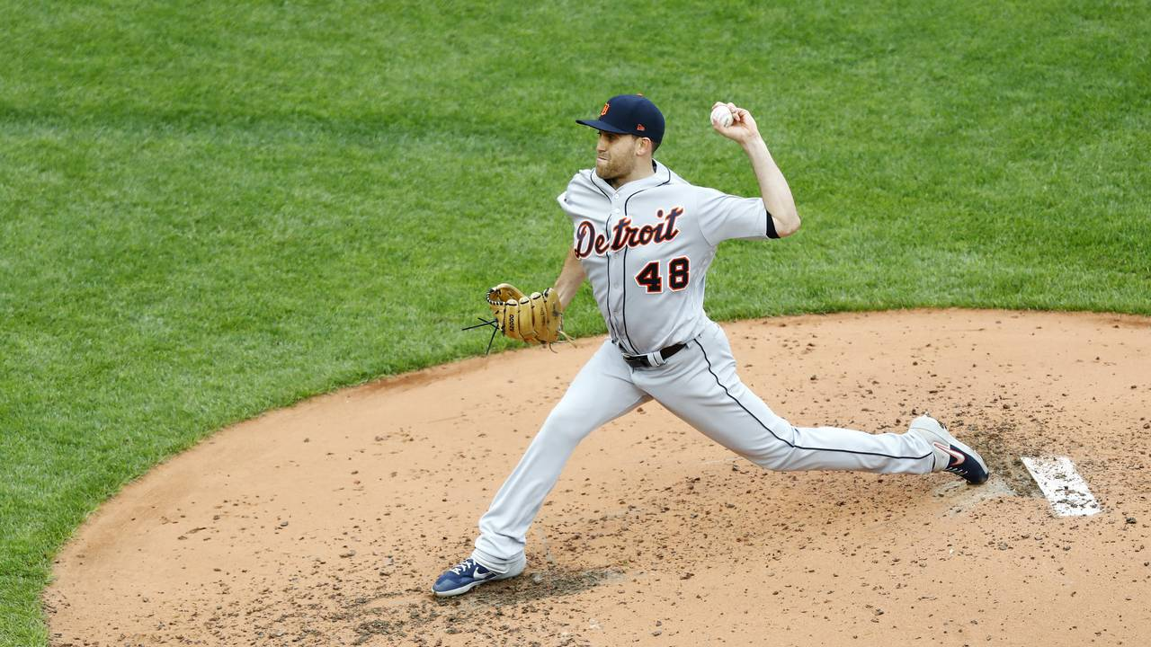 Matt Boyd Detroit Tigers vs Red Sox 2019