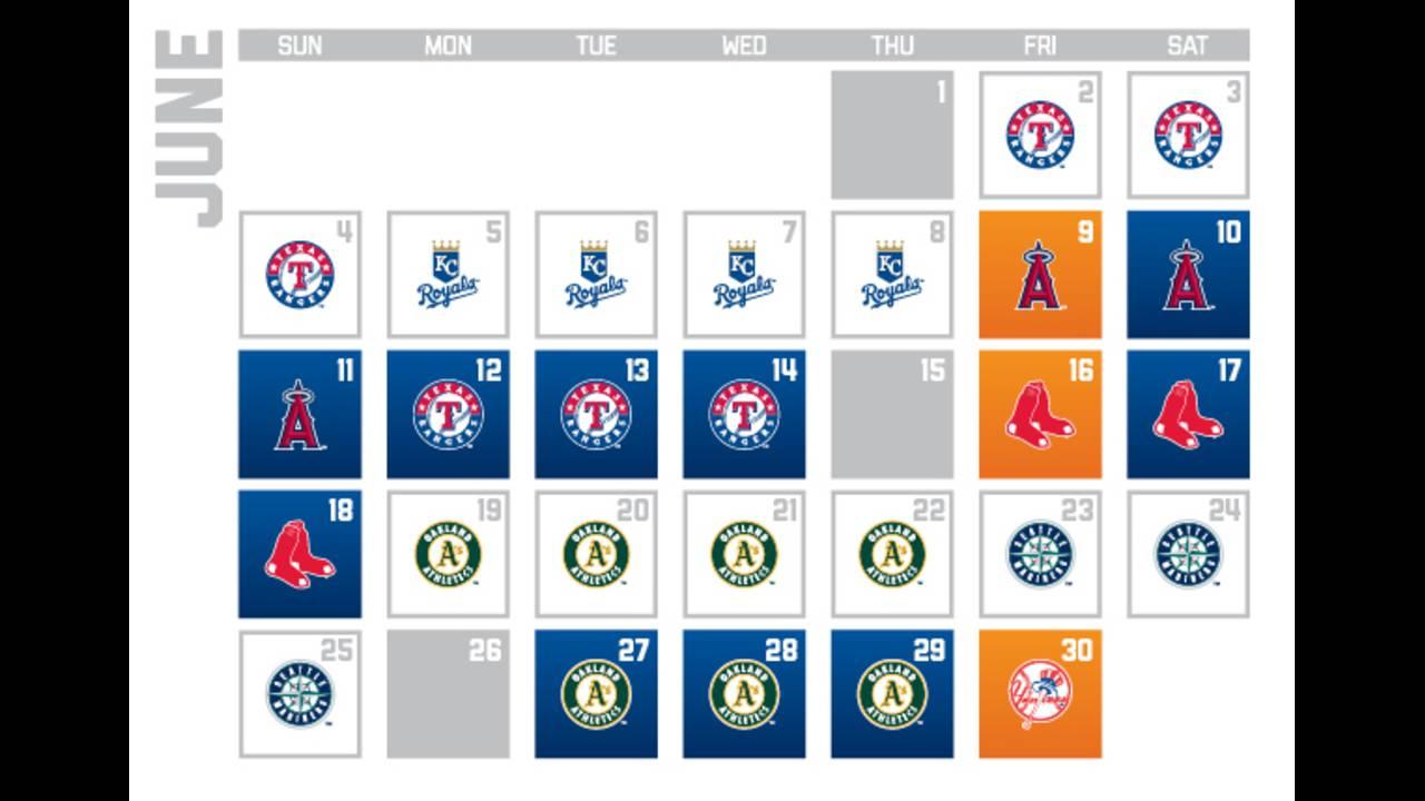 Houston Astros release 2017 season schedule