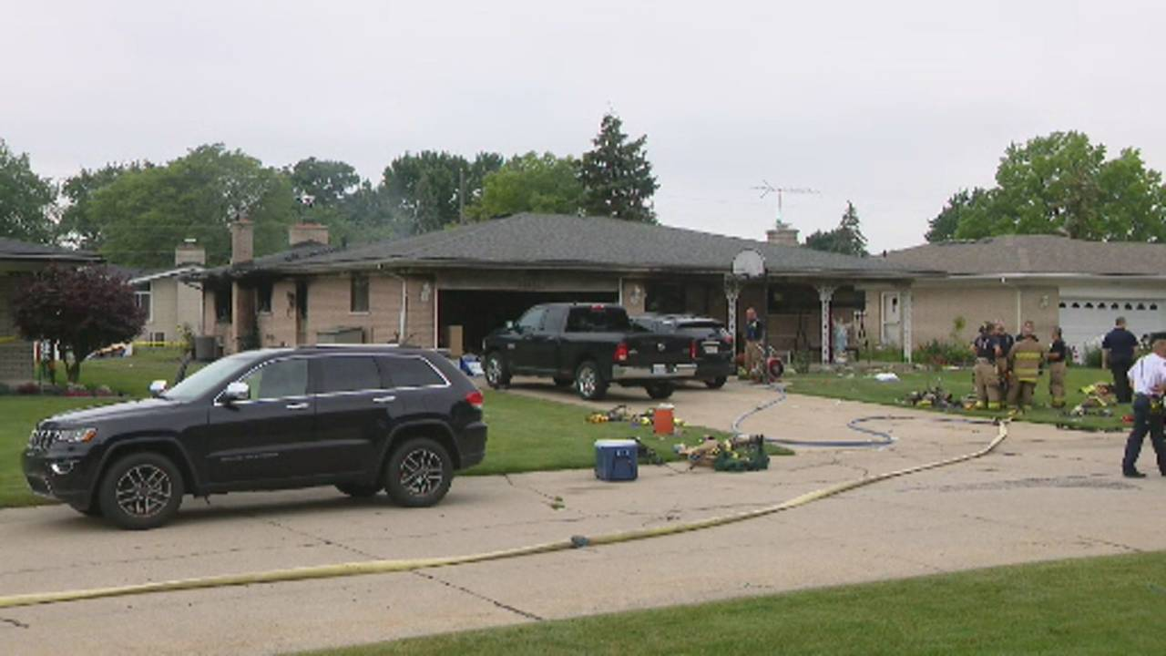 Sterling Heights house fire