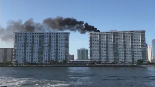 Sunny Isles Beach Fla Miami Dade Fire Rescue Officials Say High Temperatures Played A Role In Rise Sunday