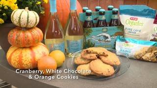 H-E-B Backyard Kitchen: Cranberry, White Chocolate & Orange Cookies