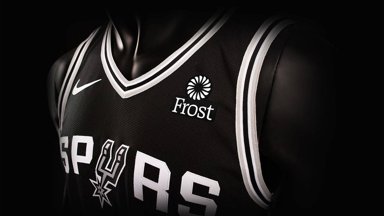 Frost Bank becomes first-ever Spurs jersey partner 851b7319a