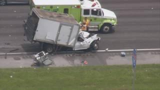Driver of box truck killed in I-75 crash