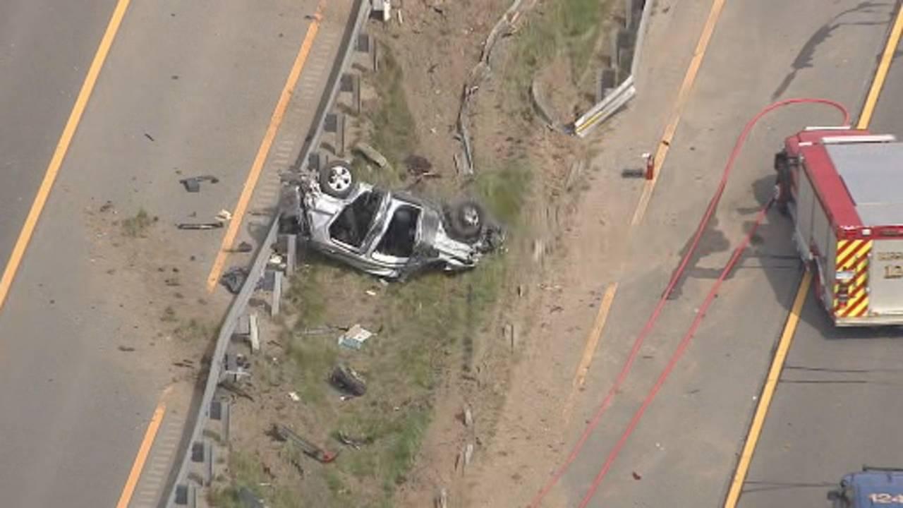 US 23 Northfield Township semi truck crash 3