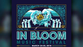 Houston's In Bloom Music Festival lineup released