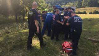 Hiker medevaced after falling about 100 feet off McAfee Knob