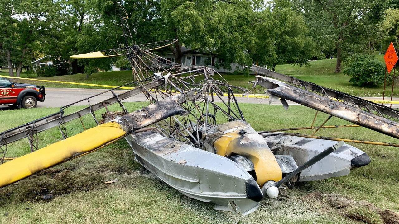 Seaplane crash Independence Township 2