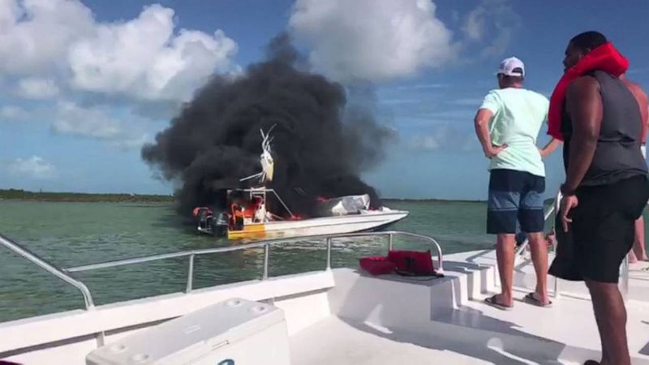 1 Woman Dead 9 Injured After Boat Explodes In The Bahamas