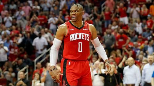 Russel Westbrook makes history, breaks record in Rockets uniform