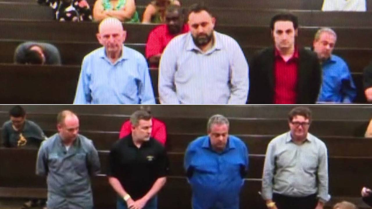 7 of 9 poker room suspects in court 5-2-19