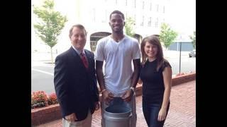 John Carlin takes the ALS Ice Bucket Challenge