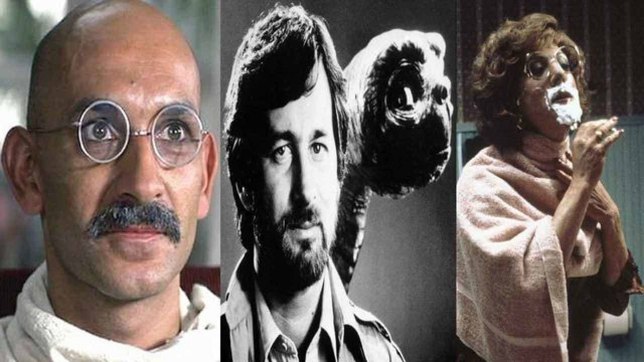 'Gandhi' vs 'E.T. the Extra-Terrestrial' and 'Tootsie'