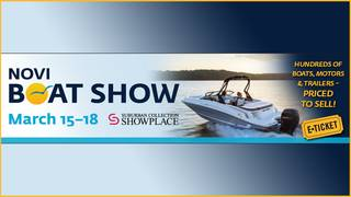 Enter for your chance to win A Family 4 Pack of Tickets to the Novi Boat Show
