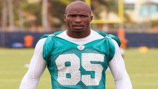 Chad Johnson suits up for Boca Raton soccer club