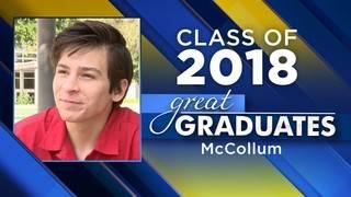 Great Graduates: Michael Roberts, McCollum High School