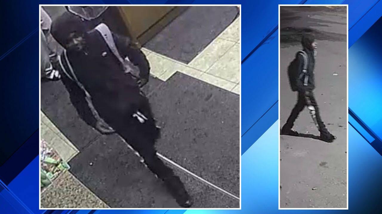Detroit gas station robbery 3 men suspect 2