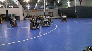 8 teams battle in Southern Slam Quad Rugby tournament