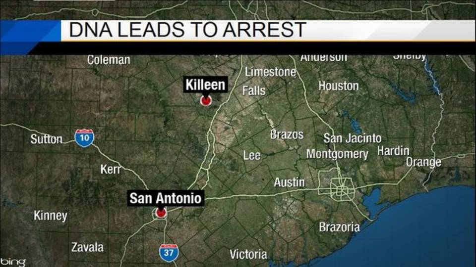dna leads to arrest
